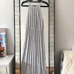 Market Heather Grey Maxi Dress